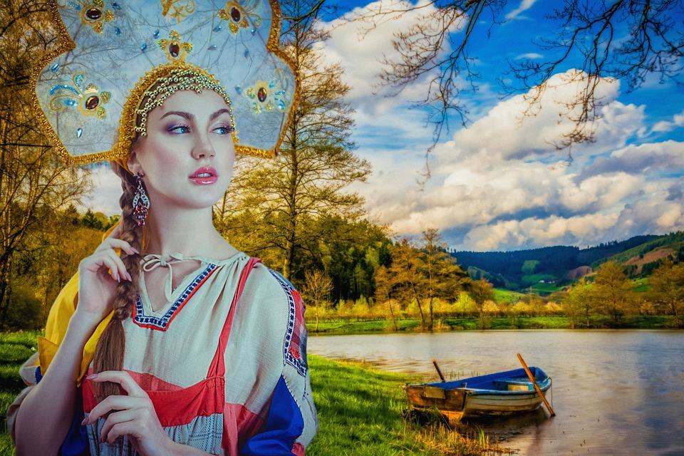 Begegnung mit der landschaftlichen Schönheit Russlands