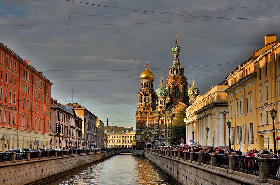 Russland Visum in St. Petersburg